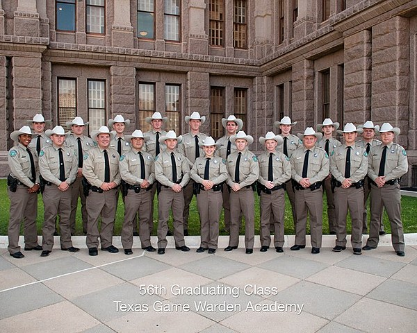 No rest for texas game wardens for Mississippi fish and game